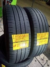 2Pneus 15 Dunlop, Semi novos. Leia o anúncio!