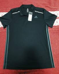 ccac84a478 Camisa original Adidas pólo climacool M