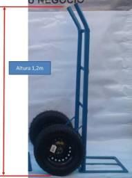 Carrinho Armazém carga 200kg rodas 325-8