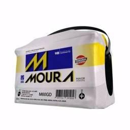 Bateria Moura Nova Original 60ah Promoção com Garantia 18 meses