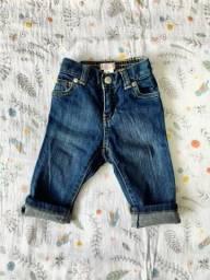 Jeans Old Navy para bebê de 6-12 meses