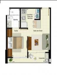 Alugo Apartamento 1 quarto em Águas Claras Norte rua 19