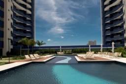 Apartamento 1/4 sala com varanda, + dependência e terraço no Villa Privilege