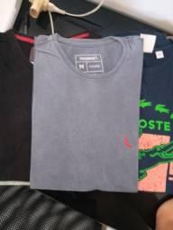 6 camisas tamanho M