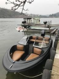 Lancha Bayliner 16 pés 2001 75 hp - 2001