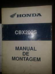 Manual de montagem Honda cbx 200 estrada