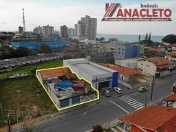 Imóvel comercial ao lado da Caixa Econômica, terreno com 420 m²