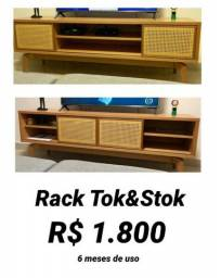 Rack de madeira Tok Stok