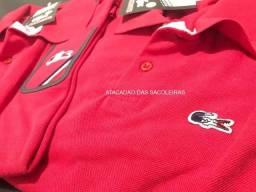 f7e482674 Sacoleiras - 50 Camisetas Polo Luxo, Varias Marcas Famosas - Frete Grátis