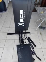 Estação de musculação, voador, cross, acessórios