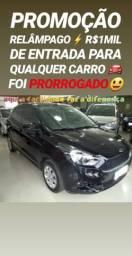 Ford/KA 1.0 SE 2018 COMPLETO(R$1MIL DE ENTRADA)SHOWROOM AUTOMÓVEIS