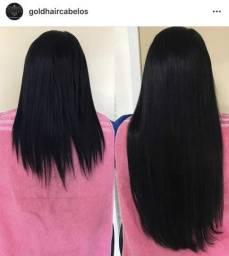 6807a590d Venda e colocação de cabelos naturais para Mega Hair de faixa e  microcápsulas de queratina