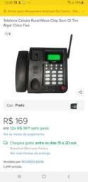 Telefone fixo com chip não paga mensalidade