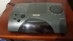Rádio Relógio Philips raridade