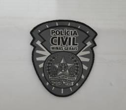 Patch da Polícia Civil De Minas Gerais (PCMG).