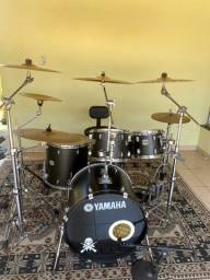 Bateria Yamaha Stage Custom All Birch Shell. (COMPLETA)
