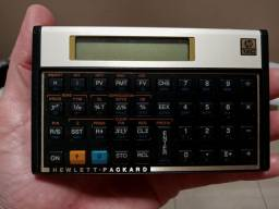 Calculadora HP 12 C Gold novinha