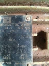 Motor trifásico 20 cv irrigação