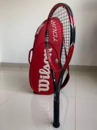Raquete e Raqueteira Wilson