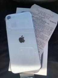 Vendo IPhone SE 2 64gb, novo + nota fiscal