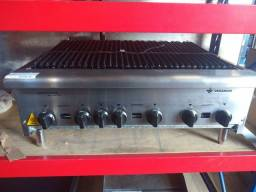 Chapa grill a gás 90cm - Tainara