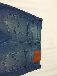 Calça jeans stalker infantil tamanho 12