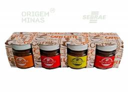Kit Mini Maquiatos | Creme de Café artesanal - 4 potes de 40 ml
