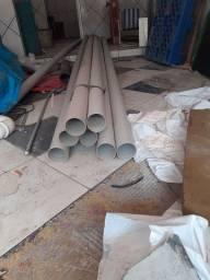 Vendo 7 barras de cano. 100mm
