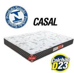 Título do anúncio: D23 colchão Casal - Produto Novo