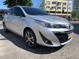 Toyota Yaris 2021 XLS 1.5 Automatico + Teto solar + 5.000km =0km
