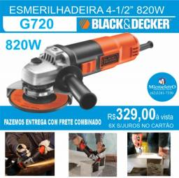 Esmerilhadeira G720  Angular 4 1/2 820w  Black & Decker