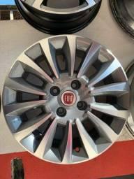 Jogo de rodas aro 15 Fiat
