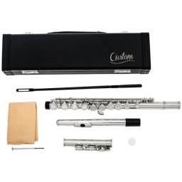 vendo ou troco flauta transversal semi-nova por placa de video 4gb ddr5