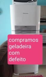 GELADEIRA COM DEFEITO C0MPR0 retiro n local pagamento a vista