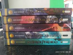 Box - Livro Percy Jackson / Os heróis do Olimpo