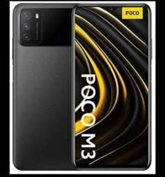 Poco M3 lacrado xiaomi 48mp aceito cartões Pocophone