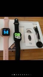 Relógio Smartwatch Iwo 12 Lite W26 40mm Tela Infinita
