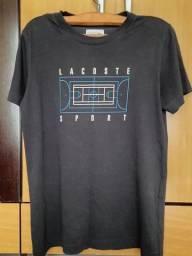 Camiseta Lacoste Preta M
