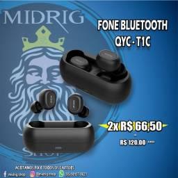 Fone de ouvido Bluetooth QYC