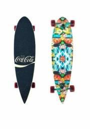 Skate longboard coca cola