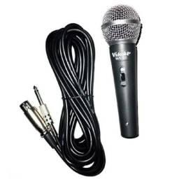 microfone com fio - dynamic
