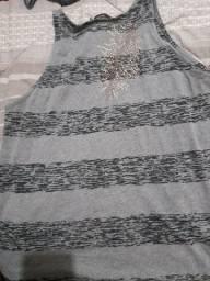 Camisa sem manga
