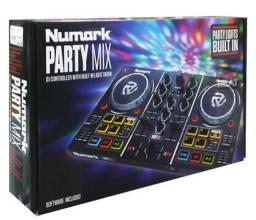 Controlador Numark Party Mix Com Pré Escuta(entrego na Vila Santa Cecília)