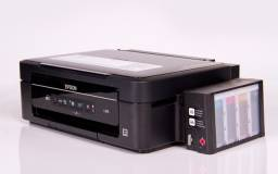 Impressora Multifuncional Epson L355 - Revisada - Taque de Tinta