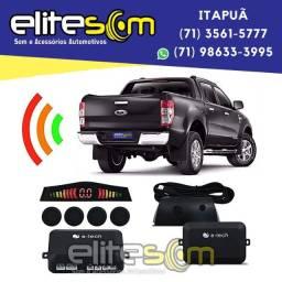 Sensor de Estacionamento Emborrachado com Display instalado na Elite Som