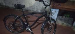 Bicicleta alumínio semi-nova