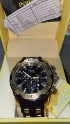 Relógio Invicta Masc Pro Drive Quartz (22340) Preto/dourado