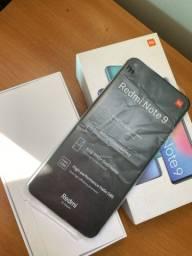 Xiaomi redmi note 9, sem detalhes, funcionando tudo