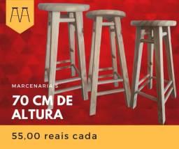 Banqueta Alta reforçada - Entrega grátis em Curitiba Acima de 2 peças!!