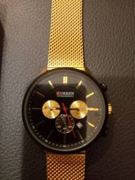 Lindo relógio masculino marca Curren novo